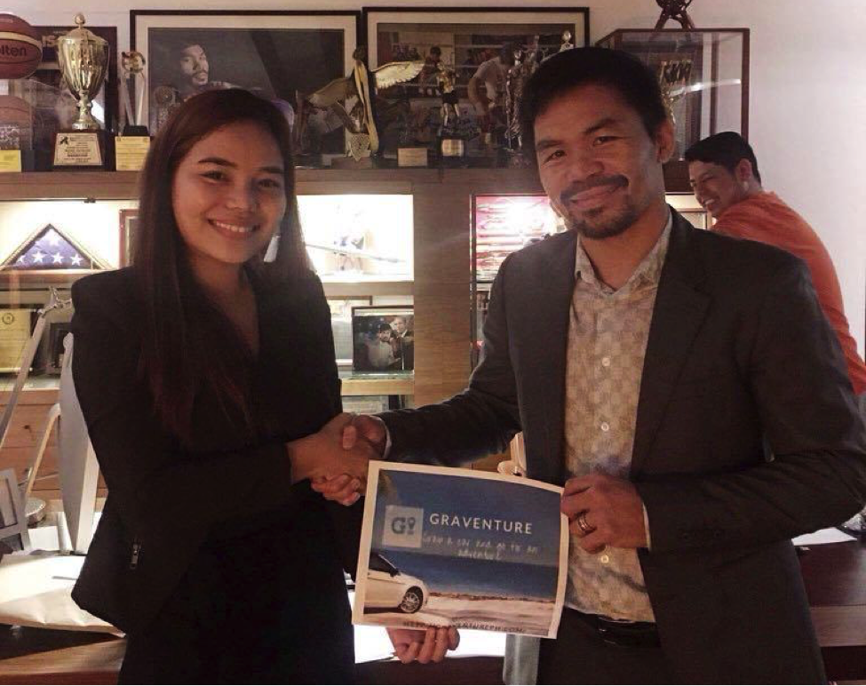 Manny Pacquiao Invests in PH Startup That's Building Platform for Renting Cars