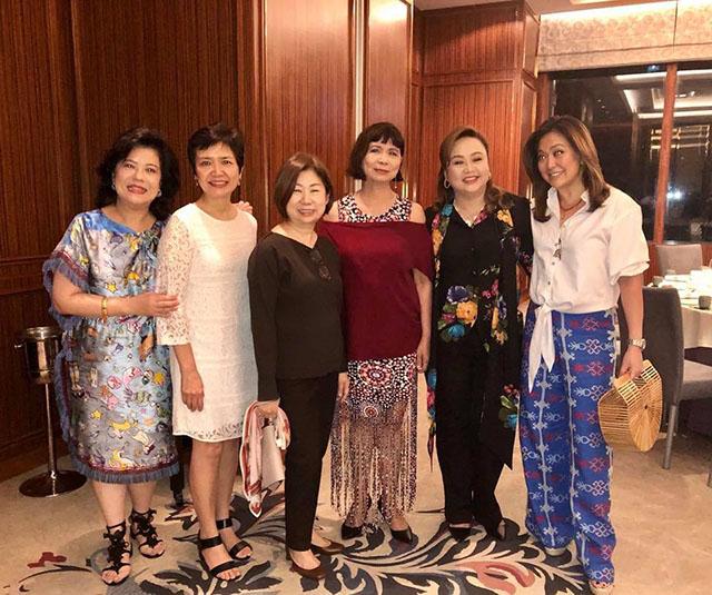 WATCH: Tessie Sy Coson and Robina Gokongwei Pe Sing a Duet