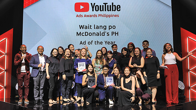 Why mcdonalds wait lang po won youtube philippines ad of the mcdonalds won the top award at the inaugural youtube philippines ad awards for their video wait lang po forumfinder Images