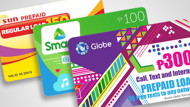 prepaid subscribers of the countrys two major telecoms networks may now use their load credits up to one year after purchase the companies announced in - Load Prepaid Card