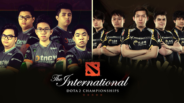 Mineski and TNC Earn Over Php26-M From Global Dota 2 Match Despite Early Loss
