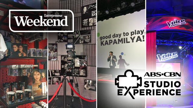What's It Like to be a TV Star or Director? Try Out with ABS-CBN Studio Experience