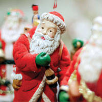 Christmas-related businesses can be run the whole year round