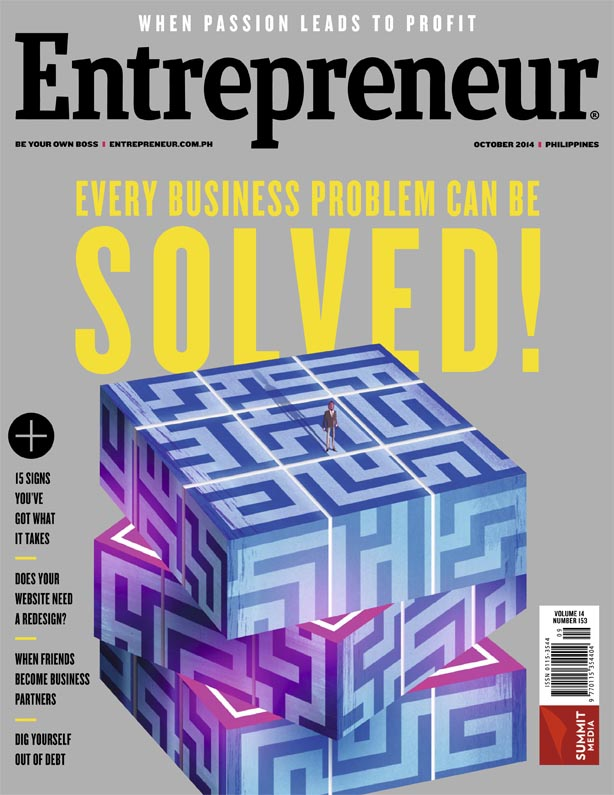 Entrepreneur October 2014 Cover