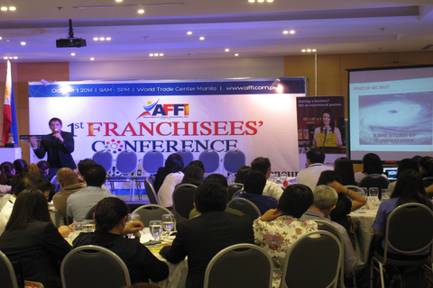 AFFI holds first franchisees' conference in the country