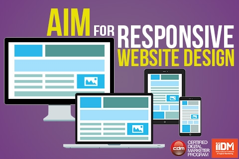 Aim for responsive website design (RWD)