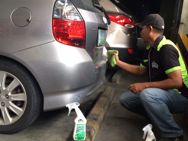 SME introduces locally made waterless and eco-friendly car cleaning solution