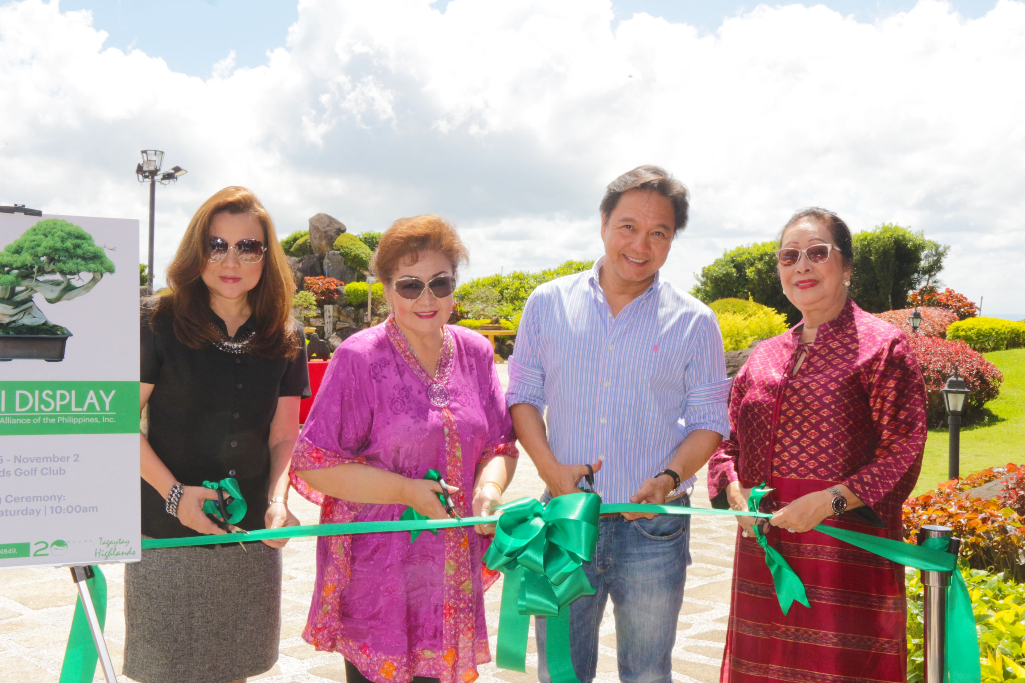 Tagaytay Highlands hosts bonsai and suiseki exhibit as part of its 20th anniversary