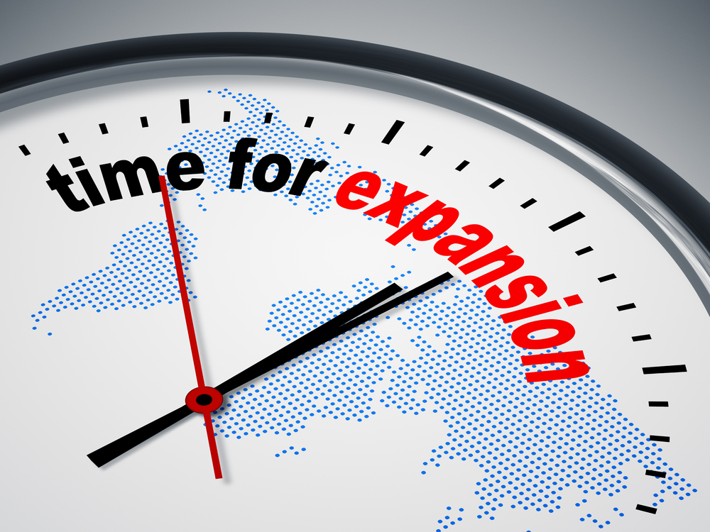 When is the best time to expand your business?
