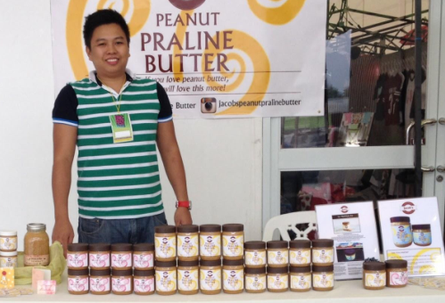 Global Academy graduate rolls out first ever peanut praline butter brand in history