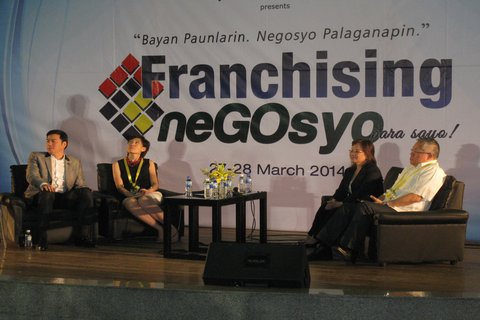 PFA holds 'Franchising Negosyo' expo at TriNoma Mall