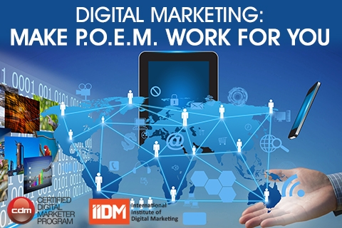 Digital marketing: Make P.O.E.M. work for you