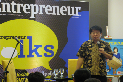 Entrepreneur Philippines holds first 'Entrepreneur Talks'