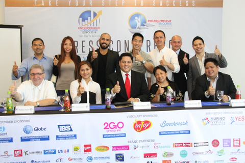 One step to success: The Entrepreneur & Franchise Expo 2014 launch