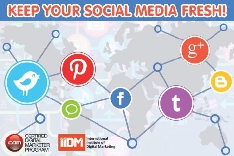 Social media for modern marketing