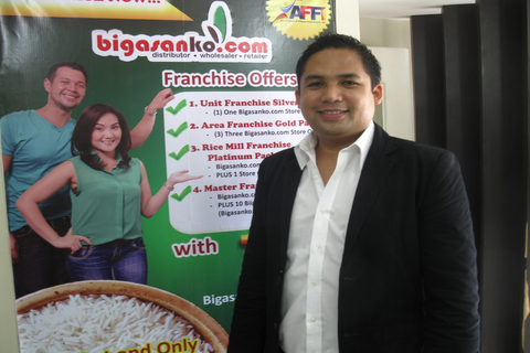 Former OFW offers franchising opportunity in rice wholesaling and retailing