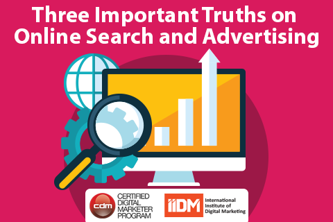 Three important truths about online search and advertising