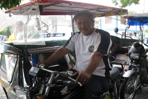 Tricycle driver hopes to become an entrepreneur someday