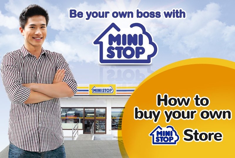How to buy your own Ministop store