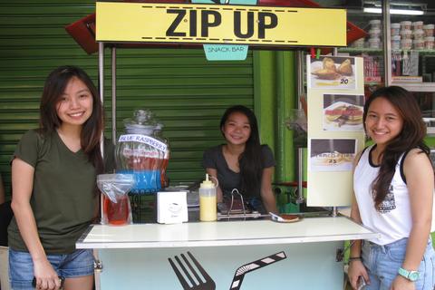 Three students zip their way up to entrepreneurship