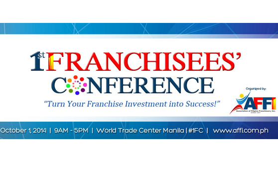 AFFI set to hold the 1st Franchisees' Conference