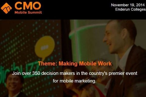 CMO Mobile Summit returns this year