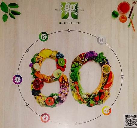 Amway's Nutrilite celebrates its 80th anniversary