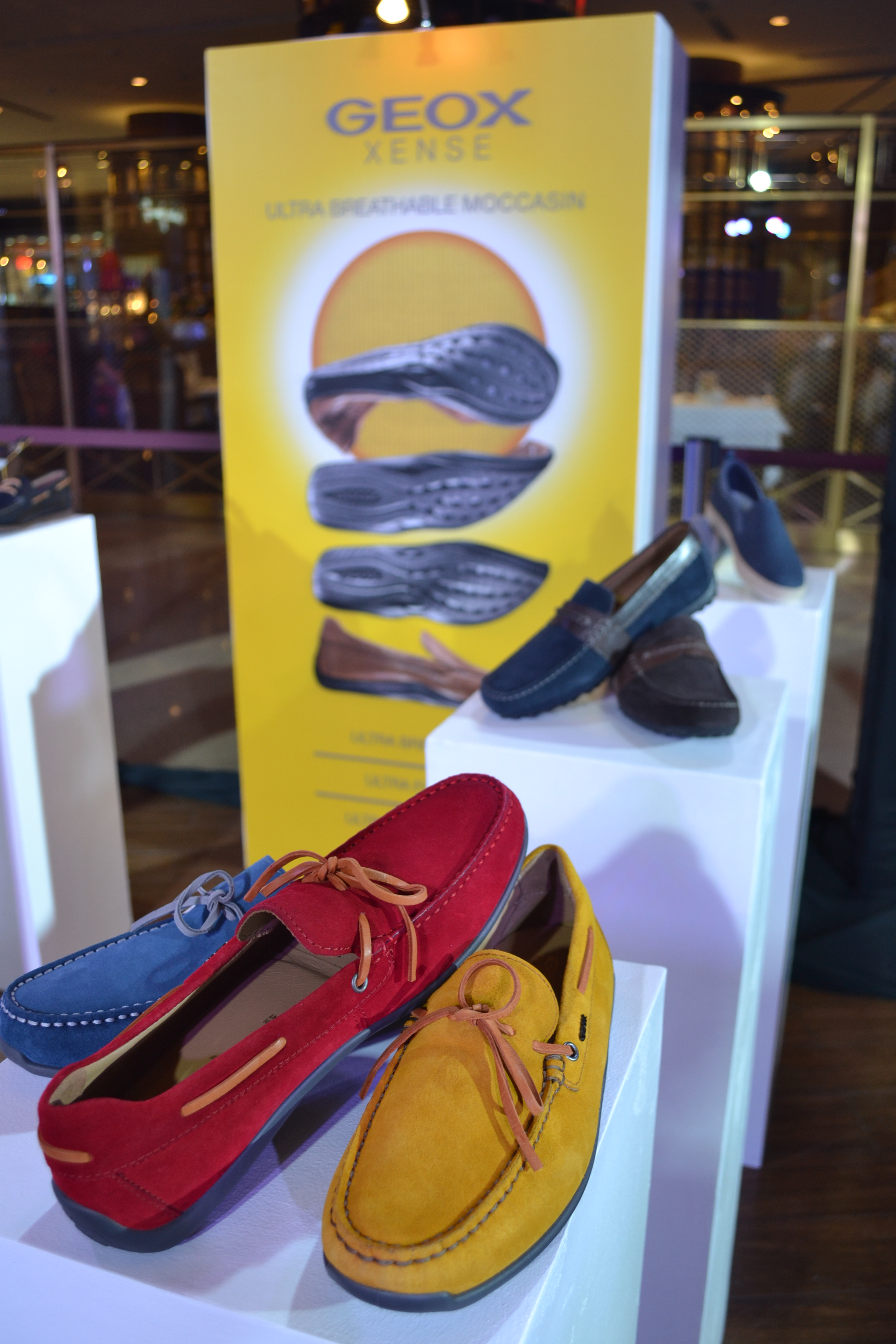 The brand behind the tagline  the shoe that breathes  has launched its shoe  and clothing line for this year s spring and summer seasons. GEOX b4330d790fb