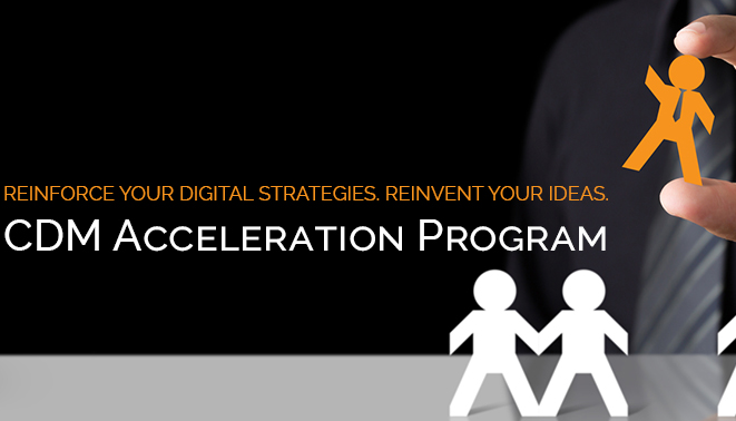The CDM program introduces the CDM Acceleration Program