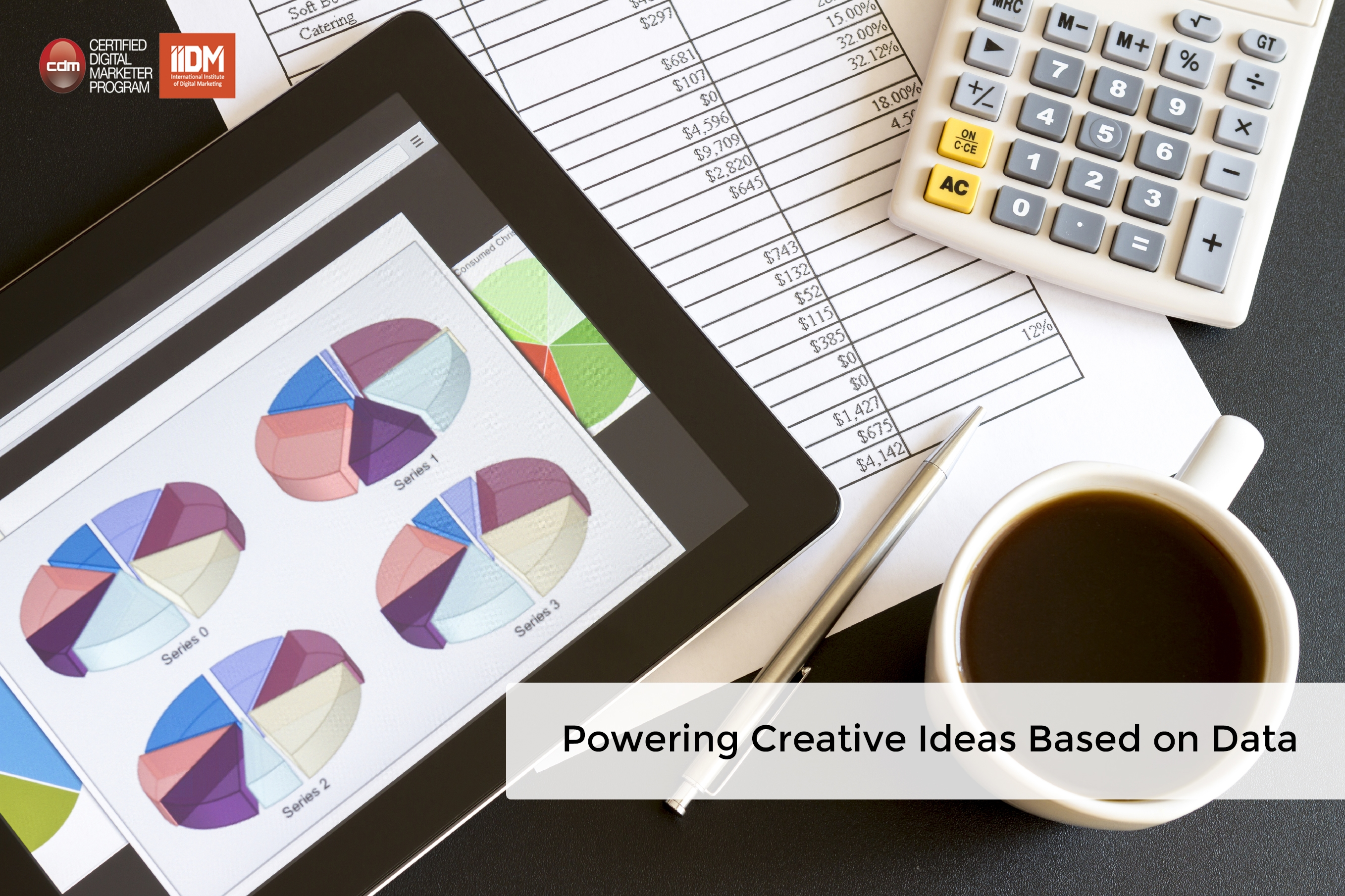 Powering creative ideas based on data