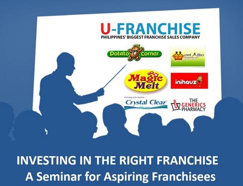A seminar for aspiring franchisees