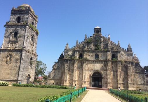 Visita Iglesia: Paoay Church in Ilocos Norte