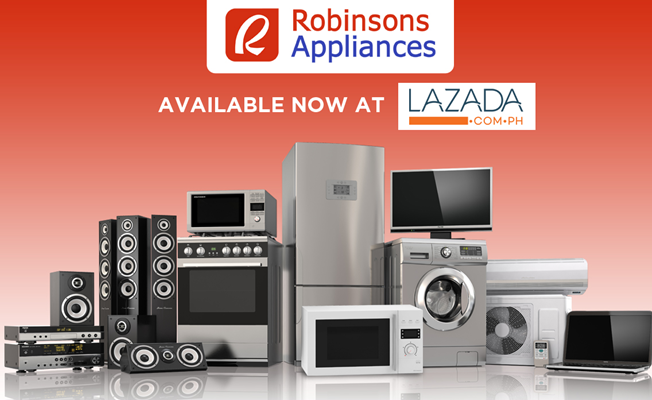 Robinsons Appliances tandems with Lazada towards a stronger e-commerce footprint in the country