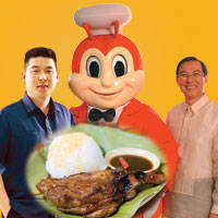 Photo shows Jollibee and Mang Inasal owners