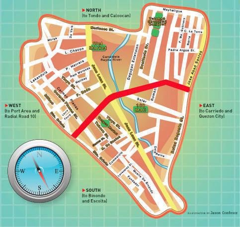 Divi Map of CM Recto