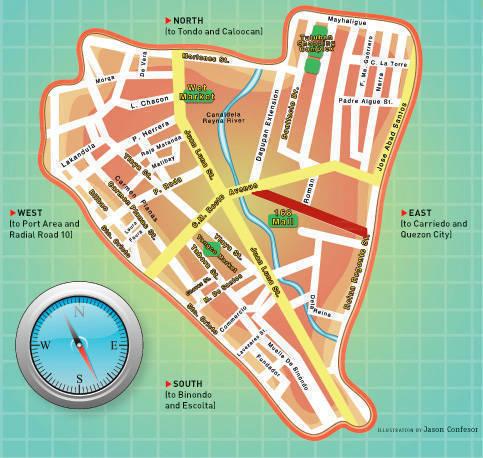 Divi Map of Soler St.