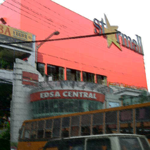 starmall and Edsa central