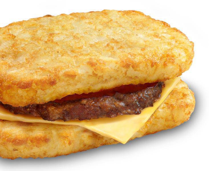 Jollibee Hash Brown Burger