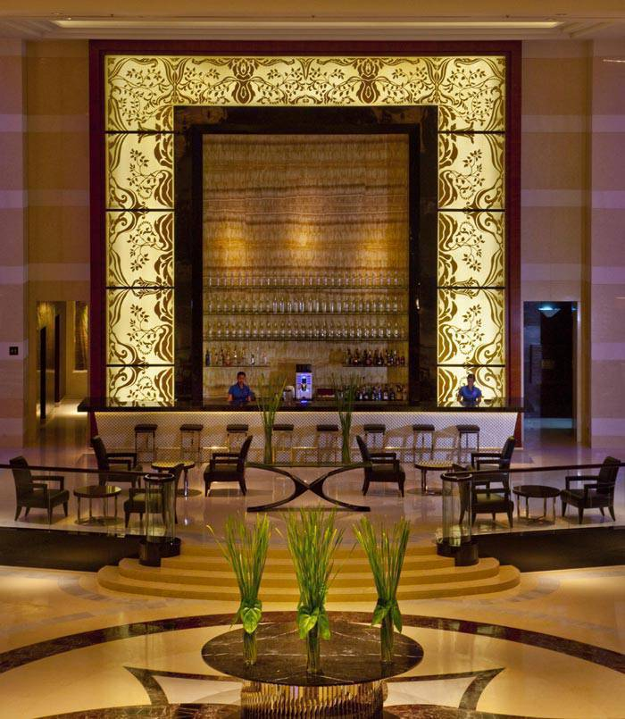 Lobby of Radisson Blu