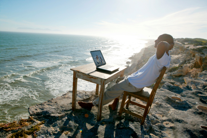 5 ways to stay positive when working remotely