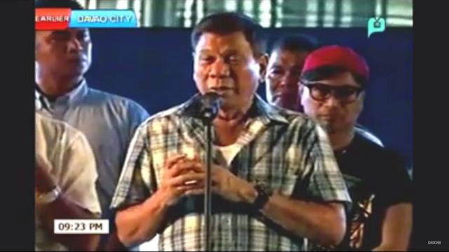 Duterte victory party
