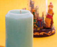 How to make decorative candles