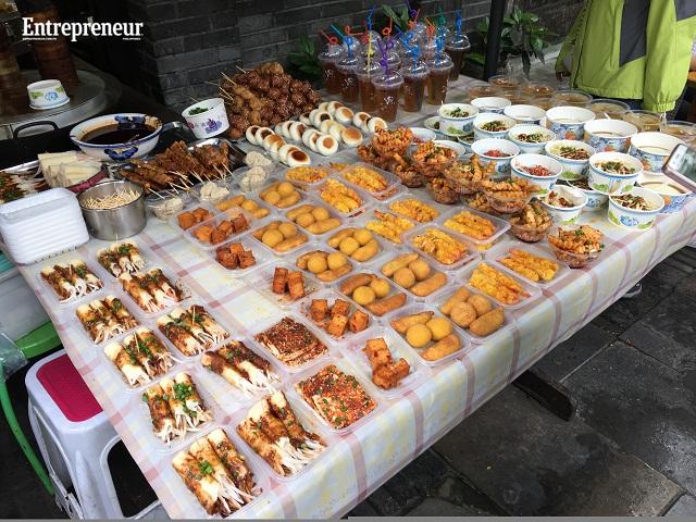 Kuanzhai food