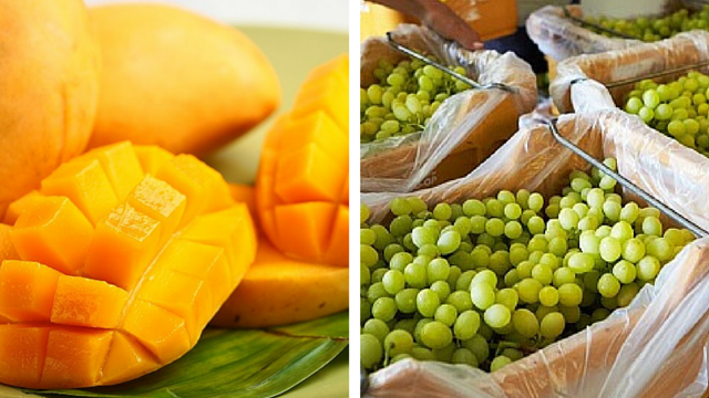 What PH mangoes, Aussie table grapes have in common?