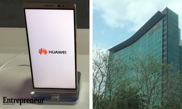 Huawei Mate 8 and HQ