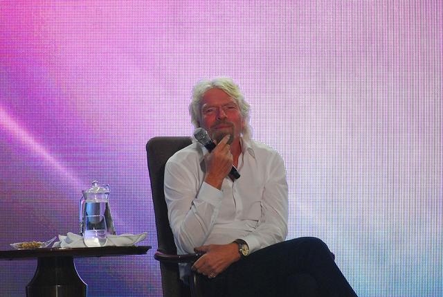 Richard Branson: 'Screw it just do it'