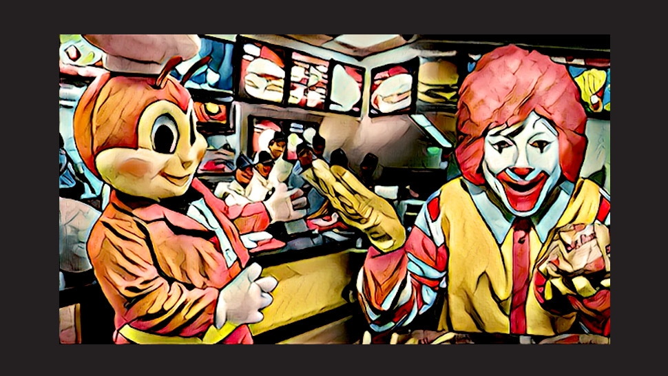 Food Fight!: McDonald's vs. Jollibee (Team Battle 1)