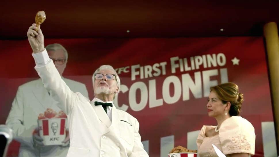 How Did KFC Come up With Their Viral Colonel Sanders Ad? | Esquire Ph