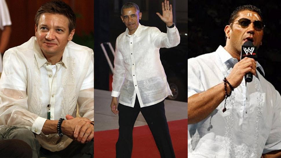 Celebrities For Filipino Barong Celebrities