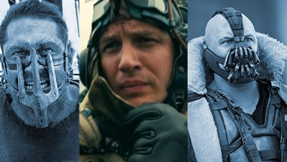 Why the Heck Does Tom Hardy Keep Covering His Face In Films?